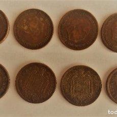 Monedas Franco: 4 MONEDAS DE 1 PESETA DE 1963,. Lote 203103500