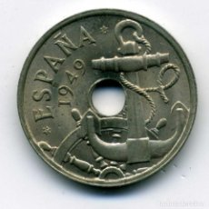 Monedas Franco: 50 CENTIMOS 1949 (*19-51) MADRID - FLECHAS INVERTIDAS S/C. Lote 203224575