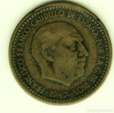Monedas Franco: 1 PESETA 1947 (*19-49) MADRID. Lote 203249705