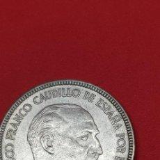 Monedas Franco: 5 PESETAS 1957 *64. Lote 204204481
