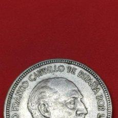 Monedas Franco: 5 PESETAS 1957 *60. Lote 204204810