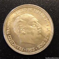 Monedas Franco: MONEDA 2,50 PESETAS 1953 ESPAÑA FRANCO ESTRELLA 54. Lote 204252842
