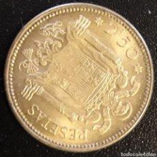 Monedas Franco: MONEDA DE 2,50 PESETAS 1953 ESTRELLA 54 FRANCISCO FRANCO ESPAÑA. Lote 204253641