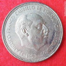 Monedas Franco: MONEDA 2,50 PESETAS 1953 ESTRELLAS 19 71 EBC ORIGINAL B34. Lote 204427175
