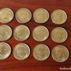 Monedas Franco: EXCEPCIONAL LOTE 12 MONEDAS 2,50 PESETAS 1953 *56. EBC++-S/C. MAGNÍFICAS.. Lote 204436792