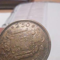 Monete Franco: MONEDA DE 2.5 PESETAS 1953 19 - 54. Lote 204471445