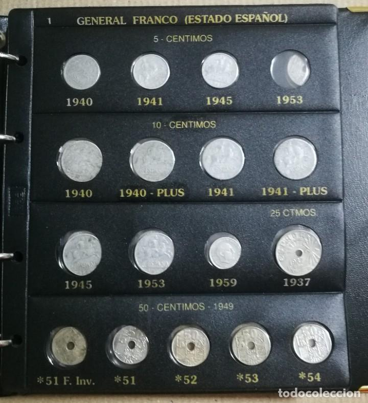 ALBUM DE MONEDAS ESTADO ESPAÑOL 1936-1975 FRANCO (Numismática - España Modernas y Contemporáneas - Estado Español)