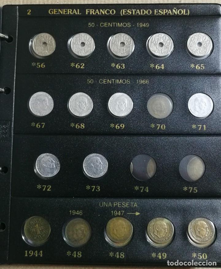 Monedas Franco: ALBUM DE MONEDAS ESTADO ESPAÑOL 1936-1975 FRANCO - Foto 2 - 204480840