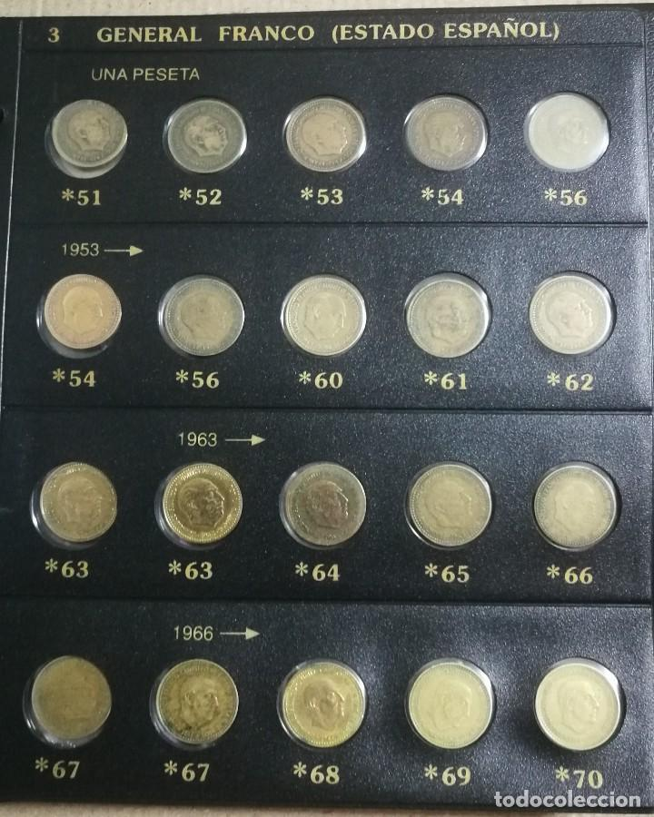 Monedas Franco: ALBUM DE MONEDAS ESTADO ESPAÑOL 1936-1975 FRANCO - Foto 3 - 204480840