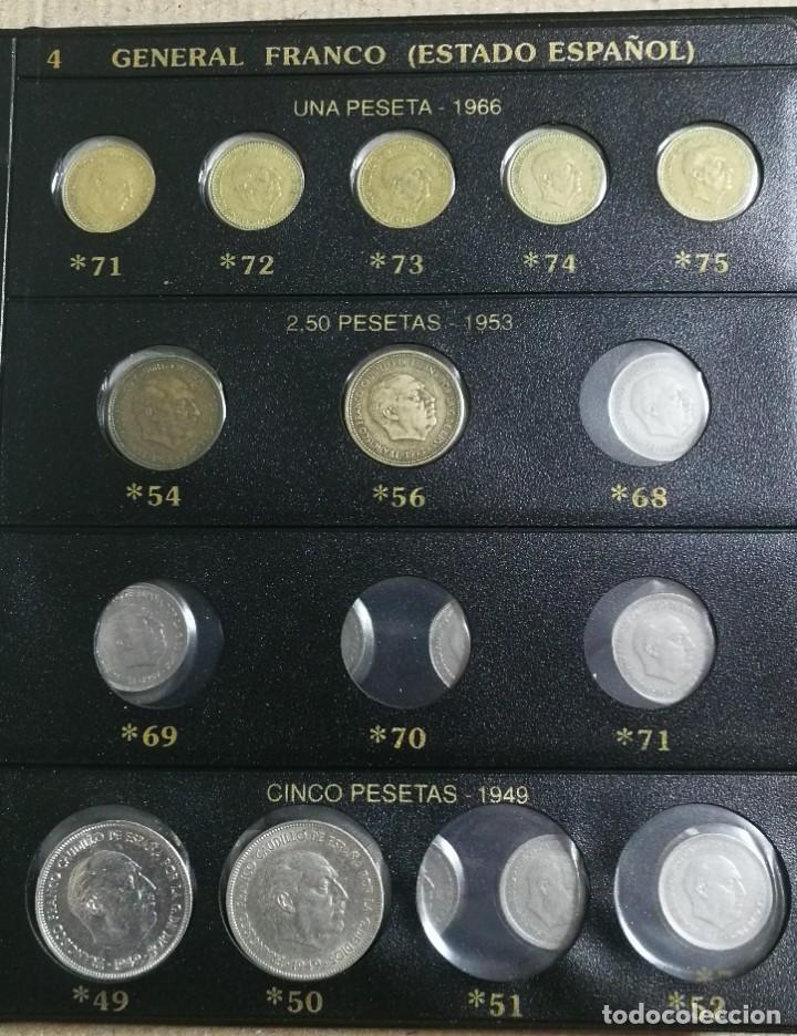 Monedas Franco: ALBUM DE MONEDAS ESTADO ESPAÑOL 1936-1975 FRANCO - Foto 4 - 204480840