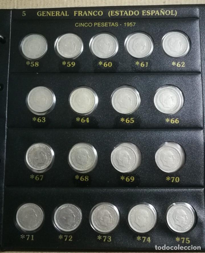 Monedas Franco: ALBUM DE MONEDAS ESTADO ESPAÑOL 1936-1975 FRANCO - Foto 5 - 204480840