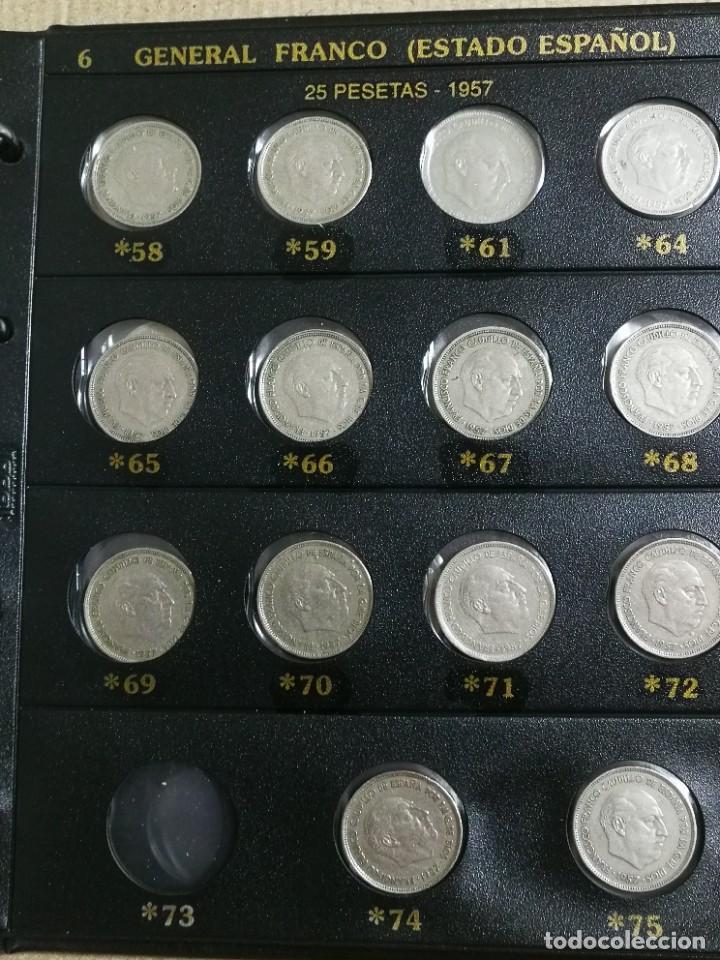 Monedas Franco: ALBUM DE MONEDAS ESTADO ESPAÑOL 1936-1975 FRANCO - Foto 6 - 204480840