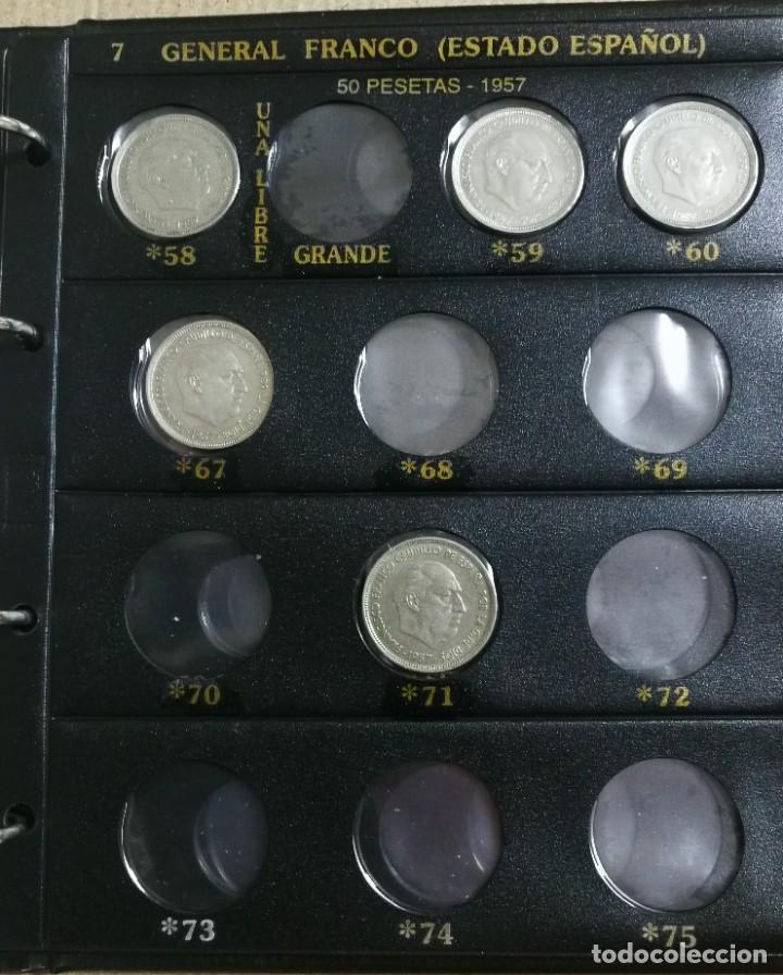 Monedas Franco: ALBUM DE MONEDAS ESTADO ESPAÑOL 1936-1975 FRANCO - Foto 7 - 204480840