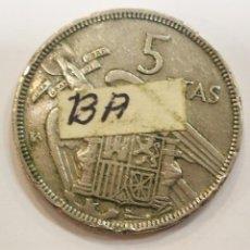 Monedas Franco: MONEDA 5 PESETAS 1957 BA CIRCULADO PERO ORIGINAL GARANTIZADO. Lote 204700506