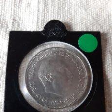 Monedas Franco: 2949*19*59 5 PESETAS GRANDES ÁGUILA FRANCO CAUDILLO ESPAÑA. Lote 204706141