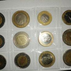 Monedas Franco: LOTE DE ALBUM CON 120 MONEDAS DISTINTAS DE UNOS 40 PAÍSES DIFERENTE. VER DESCRIPCION. Lote 204829498