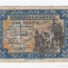 Monedas Franco: 1 PESETA - MADRID, 1 DE JUNIO DE 1940 - VER FOTOS Y DESCRIPCION. Lote 205011322