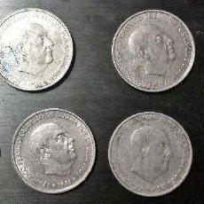 Monedas Franco: 50 CENTIMOS 1966 LOTE DE 8 MONEDAS. Lote 205096072