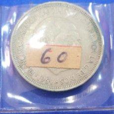Monedas Franco: MONEDA 5 PESETAS B1957 *60 ESTADO ESPAÑOL. Lote 205122210