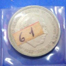 Monedas Franco: MONEDA 5 PESETAS 1957 *61 ESTADO ESPAÑOL. Lote 205122600