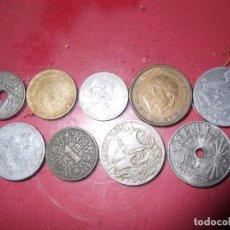 Monedas Franco: MONEDAS VARIAS DE FRANCO Y JUAN DE BORBON. Lote 205136686