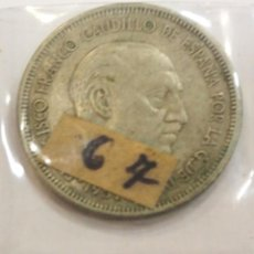 Monedas Franco: MONEDA 5 PESETAS 1957 *67 ESTADO ESPAÑOL. Lote 205166066