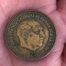 Monedas Franco: MAGNIFICA PESETA 1946 * 48 BUSTO DE BENLLIURE, MUY RARA. Lote 205320416