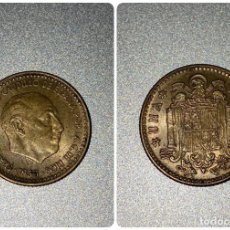 Monedas Franco: MONEDA. ESPAÑA. FRANCISCO FRANCO. 1 PESETA. 1953. ESTRELLA *54*. BRILLO ORIGINAL. EBC+.. Lote 205656637