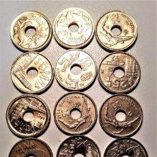 Monedas Franco: LOTE MONEDAS DE 25 PTAS.. Lote 205691337