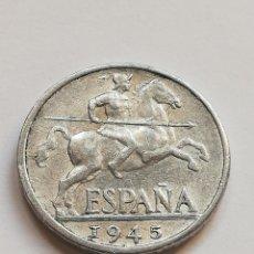 Monedas Franco: 10 CÉNTIMOS DE 1945. Lote 205698575