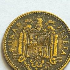 Monedas Franco: UNA PESETA 1947 ESTRELLA 48 ESTADO ESPAÑOL FRANCISCO FRANCO. Lote 205742820