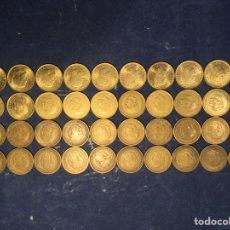Monedas Franco: LOTE MONEDAS 1 PESETA 1953 1956 1966 1975. Lote 205786610