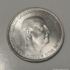 Monedas Franco: PRECIOSA MONEDA 100 PESETAS 1966 *(19-68). Lote 206424421