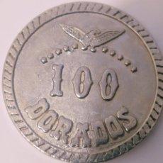 Monedas Franco: ANTIGUA MONEDA FICHA DE 100 DORADOS EL DORADO MAGALUF MALLORCA. Lote 206558018