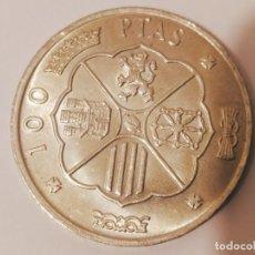 Monedas Franco: MONEDA PLATA 100 PESETAS FRANCO 1966 ESTRELLAS VISIBLES 66/19. Lote 206559288