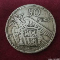 Monedas Franco: 50 PESETAS 1957 * 58, 25 PESETAS 1957 * 72 Y 5 PESETAS 1957 * 74. Lote 206584977