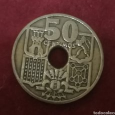 Monedas Franco: 50 CÉNTIMOS DE 1949*51 FLECHAS INVERTIDAS Y AGUJERO DESPLAZADO. Lote 206585396