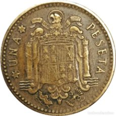 Monedas Franco: ESPAÑA. MONEDA 1 PESETA DE 1953 *56. (192).. Lote 206788146