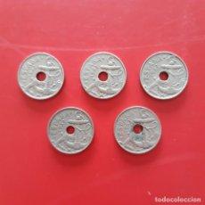 Monedas Franco: ESTADO ESPAÑOL. LOTE DE 5 PIEZAS DE 50 CÉNTIMOS 1963.. Lote 206822811