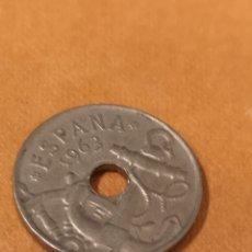 Monedas Franco: EST2. MO29. MONEDA DE ESPAÑA. 50 CÉNTIMOS. 1963 *65. Lote 206829832