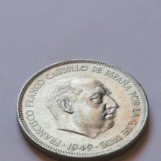 Monedas Franco: MONEDA 5 PESETAS 1949. Lote 207196280