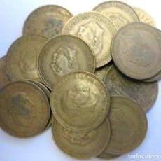 Monedas Franco: ESPAÑA, 20 MONEDAS DE 1 PESETA 1966./ USADAS.. Lote 207248277