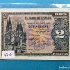 Monedas Franco: X-2156 )ESPAÑA,,2 PESETAS 1938 BURGOS,, EN ESTADO MUY BUENO NUEVO. Lote 207290775
