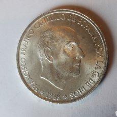Monedas Franco: LOTE 10 MONEDAS 100 PESETAS 1966*68FRANCO DE PLATA .. Lote 207295242