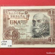 Monedas Franco: X-2157 )ESPAÑA,,1 PESETA 1953 EN MUY BUEN ESTADO CONSERVACIÓN. Lote 207296776
