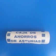 Monedas Franco: CARTUCHO MONEDAS CAJA DE AHORROS DE ASTURIAS. Lote 239653525