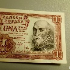 Monedas Franco: BILLETE DE 1 PESETA DE 1953. MARQUÉS DE SANTA CRUZ.. Lote 207773472