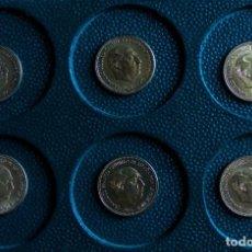 Monete Franco: LOTE COMPLETO 6 MONEDAS DE 2,5 PTAS DE FRANCO 1953 54* 56* 68* 69* 70* 71*ESTADO SC. Lote 209772711