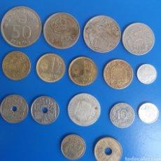Monedas Franco: DIFERENTES MONEDAS ESPAÑOLAS. Lote 210240700