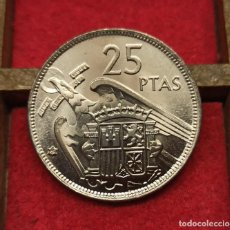 Monedas Franco: ESPAÑA 25 PESETAS FCO. FRANCO - 1957 *69 KM 787 SC UNC. Lote 289791998